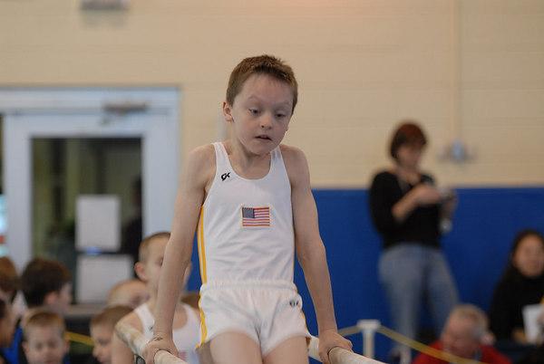 Maryland State Gymnastics Championship - Session 4 (Level 4) - Parallel Bars