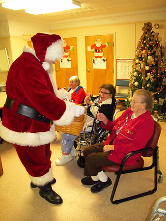 Santa Visits Tamaqua Area Adult Day Care Center, Tamaqua (12-20-2012)