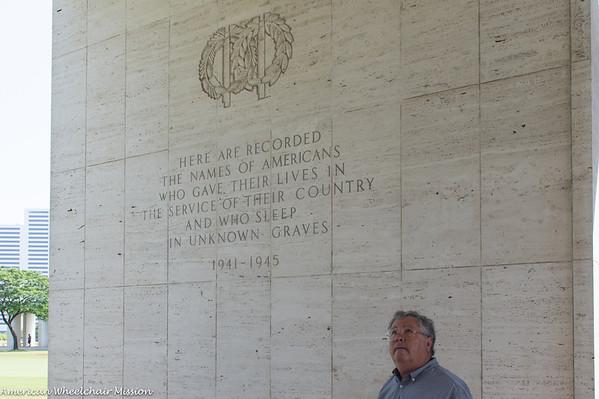 American Military War Memorial in Manila
