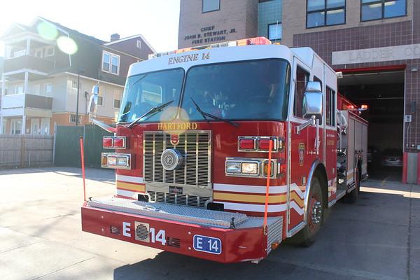 Hartford Ct Station 14 Engine 14 Ladder 4