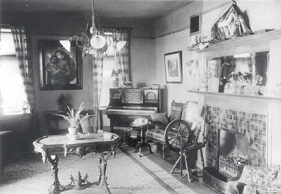 Montgomery Hall Parlor 1890's