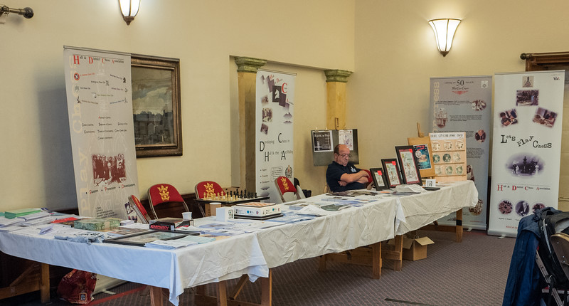 Hull & District Chess Association Stand