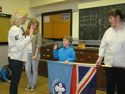 Investitures and Chief Scout Bronze awards