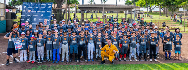 Vertical Sports Maui - Baseball Camp 2019