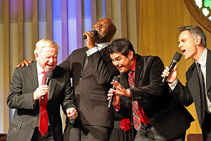 AMER-CMM 00014 The Heritage Singers' Men's Quartet wow a church audience by Peter J Mancus.JPG