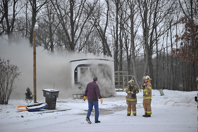 January 26, 2010 - Mutual Aid to South County - Structure Fire