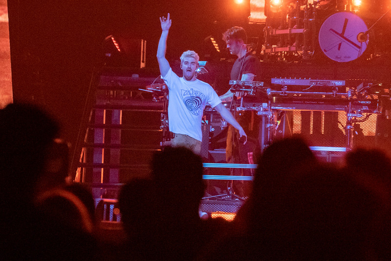 The Chainsmokers perform at the Moda Center, 12/5