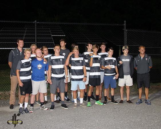 Wando Boys Soccer Ring Ceremony