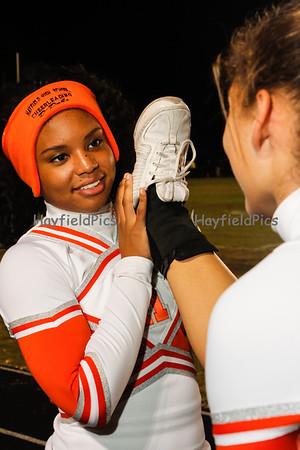 Cheerleaders Falls Church 10/26/12