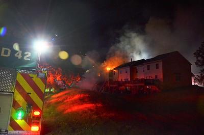 9.2.2021 House Fire, Pine Ridge Drive, Upper Frederick Twp
