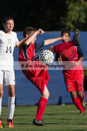 Mens JV Soccer - Mason at Dewitt