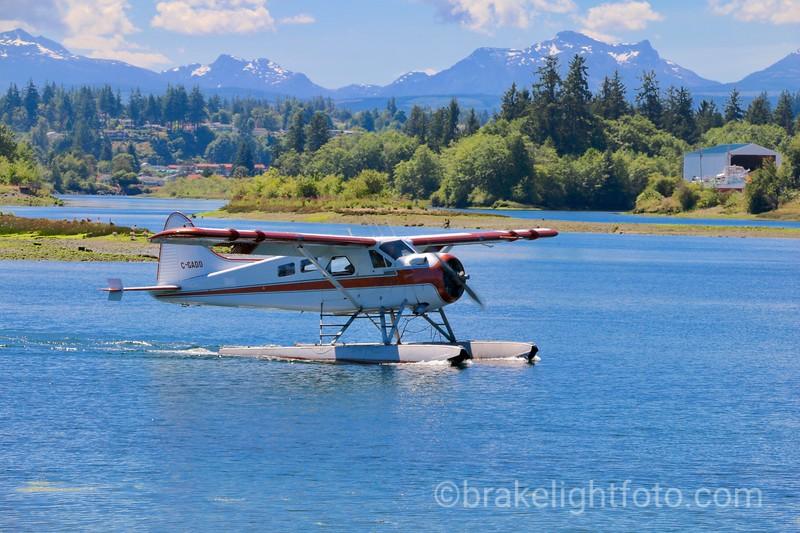 Float Plane Leaving Tyee Spit