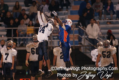 10-01-2010 Watkins Mill HS vs Magruder HS Varsity Football, Photos by Jeffrey Vogt Photography