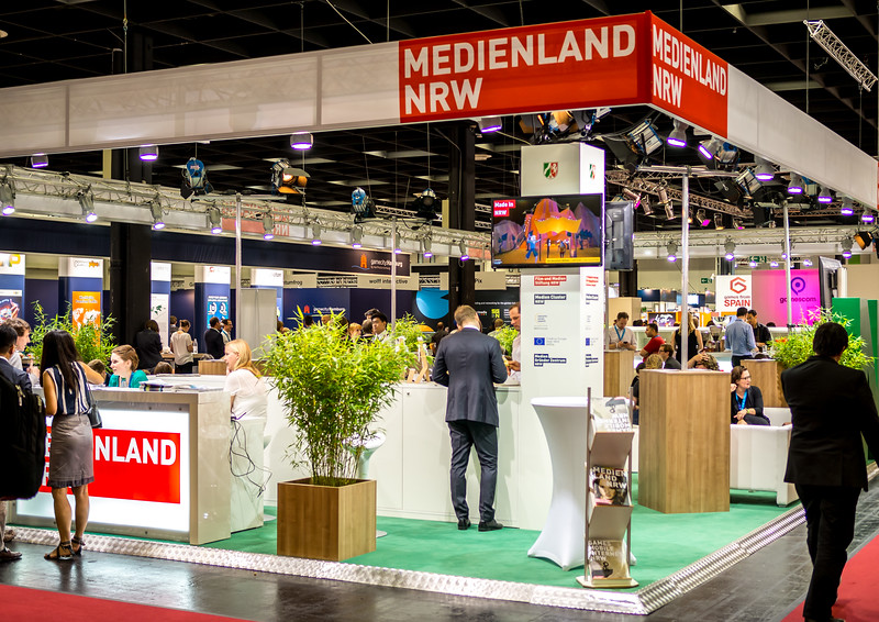Medienland NRW at Gamescom 2015