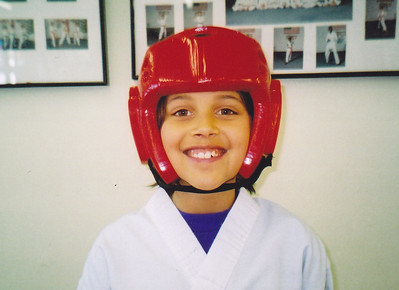 2005: Scanned Dominique Jr Black Belt Test (Dec 10, 2005)