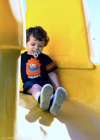 Benjamin at the park 10-2013