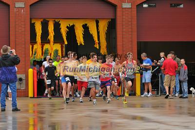 5K and 10K Start - 2012 Run Through the Flames