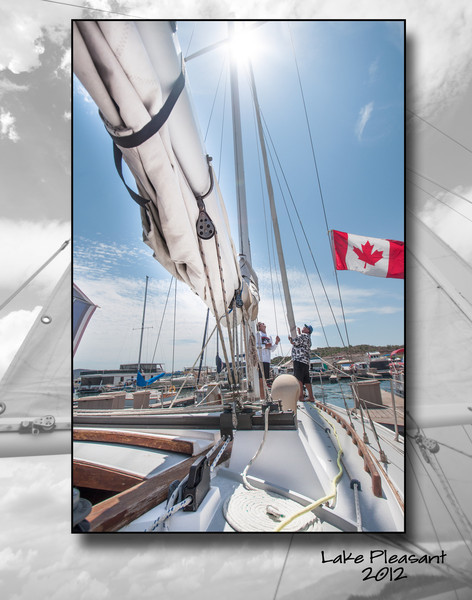 Raise the mast!