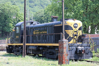 Port Jervis, New York Train Display