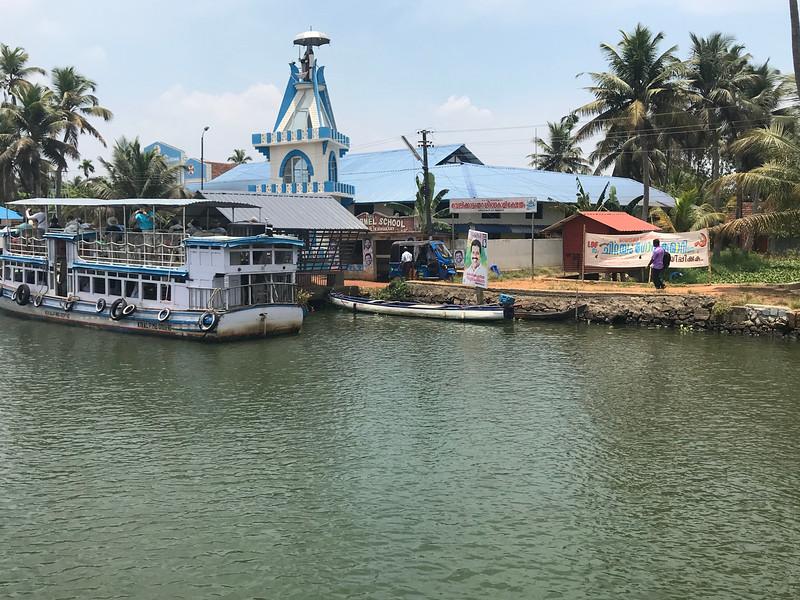 Kerala, India backwaters
