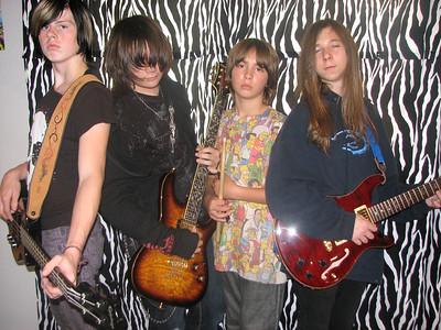 2009/10 - Drew's band Korrupt