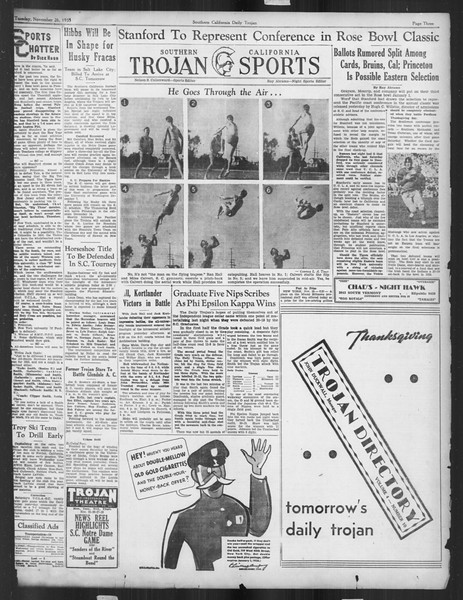 Daily Trojan, Vol. 27, No. 46, November 26, 1935
