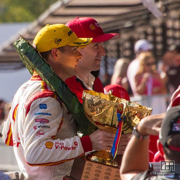 Scott McLaughlin, winner of race 2