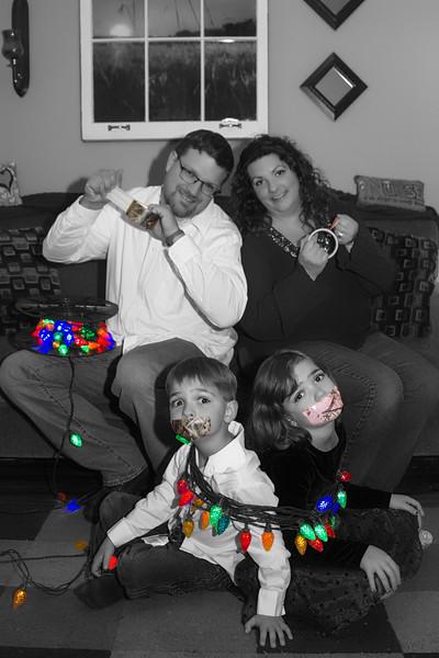 Boutz Family Christmas photos