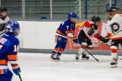 Jr Islanders VS Little Flyers 2011 AAA ( W 3-0) 1-31-21