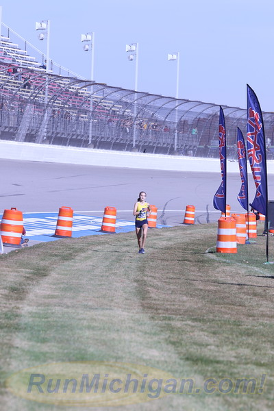 D3 Girls' Finish Section 2 Gallery 2 - 2020 MHSAA LP XC