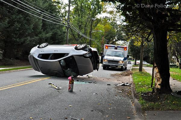 10-12-12 Ridgewood, NJ Motor Vehicle Accident: 362 Van Emburgh Avenue