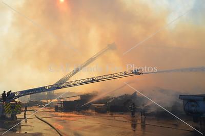 20131124 - Brentwood - Mulch Fire