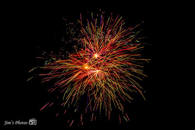 Fireworks - Anchor Inn [d] July 10, 2021