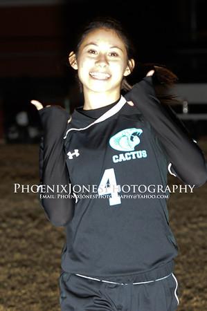 1-8-2013 - Cactus vs Cortez - Girls Var Soccer