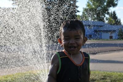 AJ Sprinkler Fun