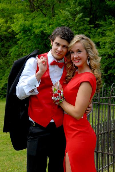 Hannah  Johnson Senior Prom 2015