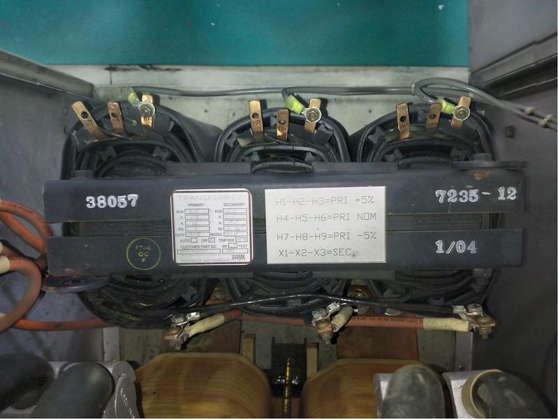 NWL Transformer in Gates Air Transmitter