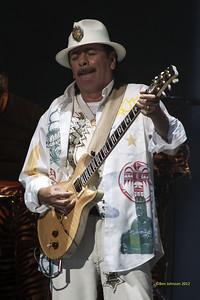 Carlos Santana 2012 Tour - Borgata Atlantic City