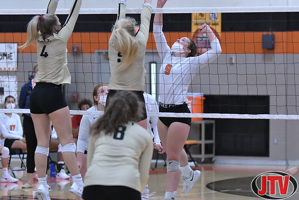 Volleyball Holt at Jackson 10-29-20