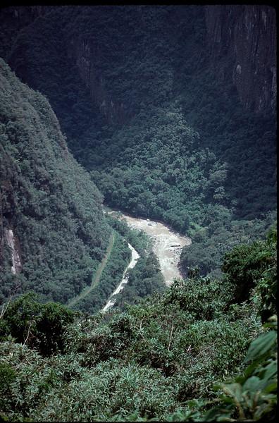following the Inca Trail to Machu Picchu