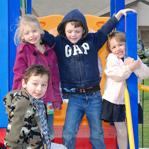 2011-04-14 Little U Kids on Playground