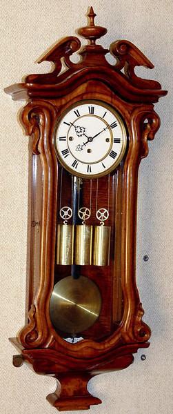 VR-250 - Serpentine Austrian granne sonnerie striking Vienna Regulator