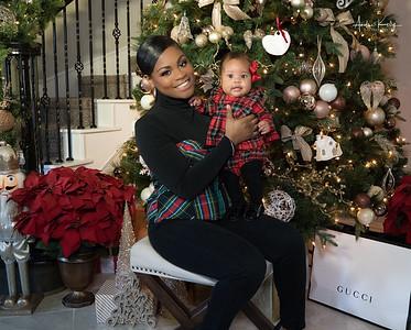 Ashley & Baby P Christmas Shoot