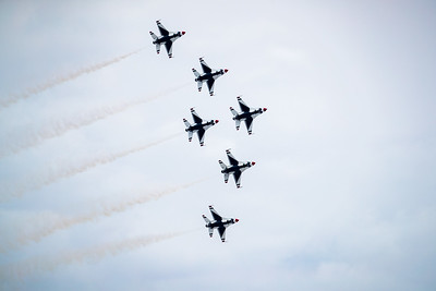 USAF Thunderbirds Tribute to First Responders