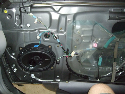 2005 Toyota Camry LE Front Speaker Installation - USA
