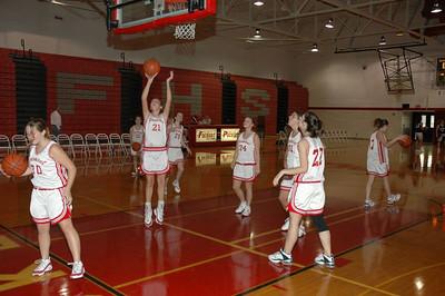 Girls Freshman Basketball  - 2005-2006 - 11/8/2005 vs. Fruitport JG