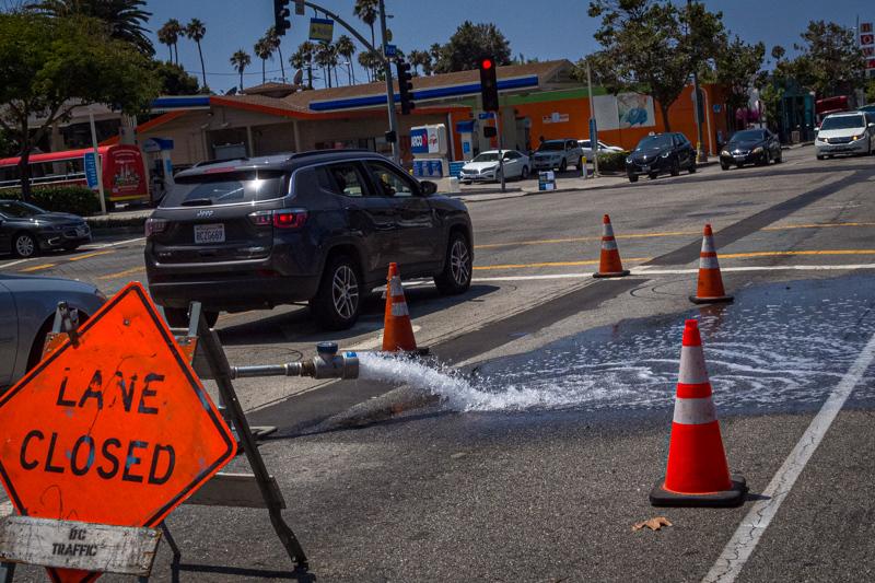 July 30 - Los Angeles wateerfall or how to get rid of excess water from last winter's rains.jpg
