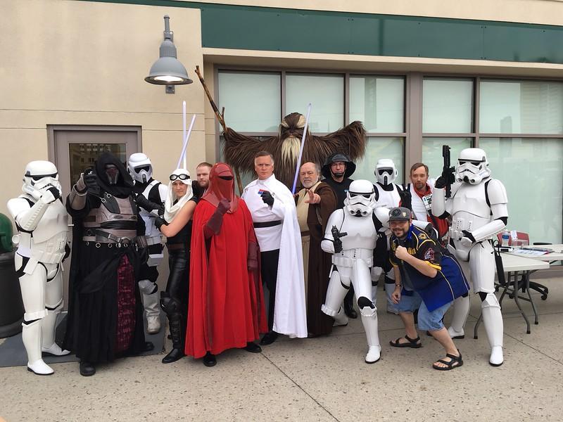 4May18, Tin Caps Star Wars Night, Fort Wayne IN