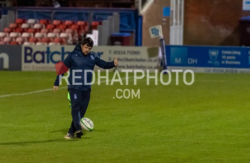 Bedford Blues vs Hartpury University, Greene King Championship, Goldington Road, 12 March 2021