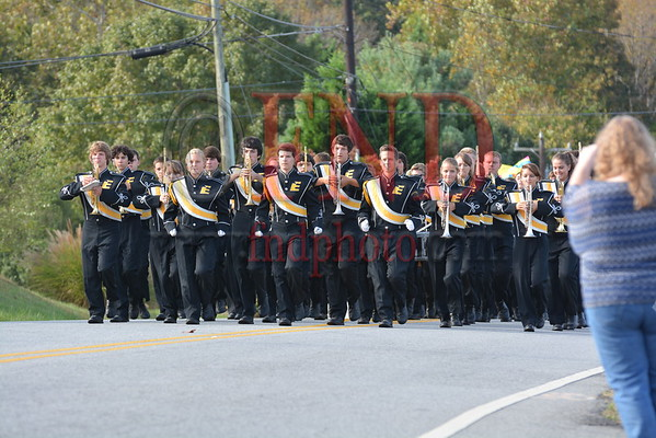 East parade and pep rally 2013